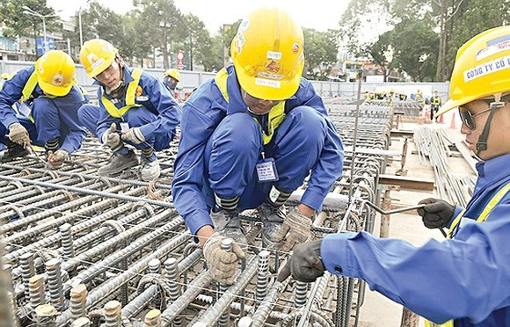 HCMC's metro line No.1 Ben Thanh Suoi Tien project