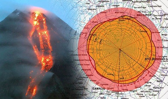 Philippines warns of Mayon volcano's eruption risk
