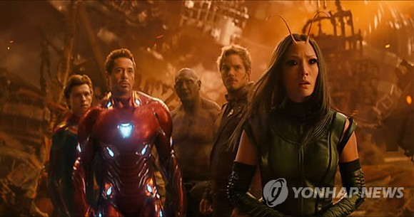 "A still from ""Avengers: Infinity War"" (Yonhap)"