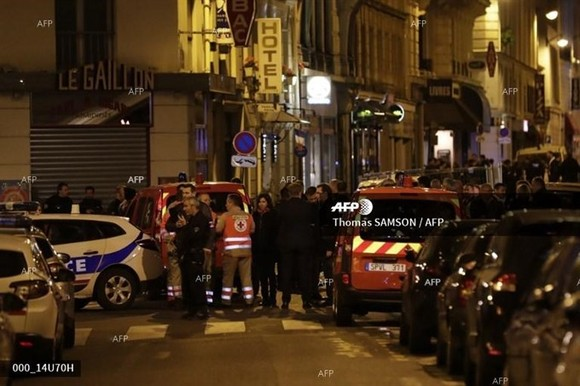 A friend of Paris knife attacker was charged and remanded in custody. - AFP Photo