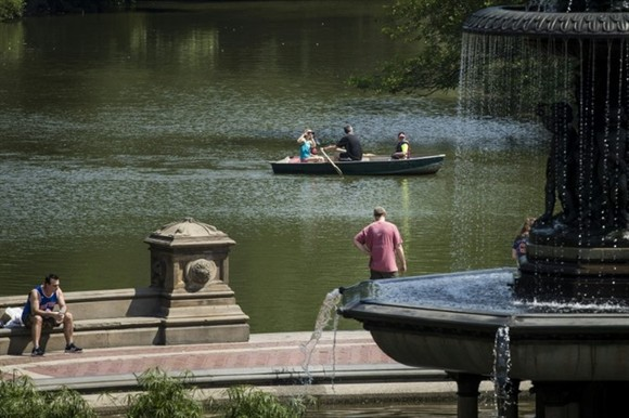 New York's Central Park is set to go car-free. — AFP Photo