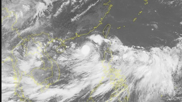 Tropical low-pressure develops into 3rd storm
