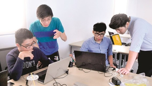 VIDEO: Startup Space for Ho Chi Minh youth inaugurated