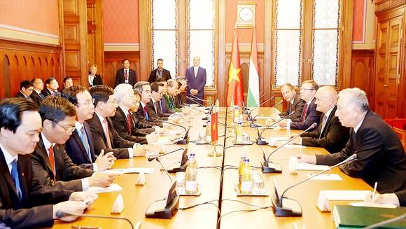 Nâng quan hệ Việt Nam - Hungary lên mức Đối tác toàn diện ảnh 2