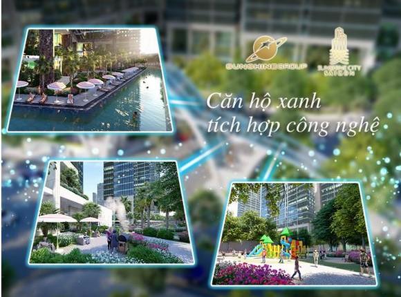 Khám phá sức hút khó cưỡng của căn hộ xanh – thông minh Sunshine City Sài Gòn ảnh 1
