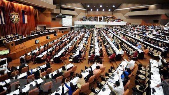 Một phiên họp toàn thể Quốc hội Cuba. Ảnh: Lê Hà/TTXVN
