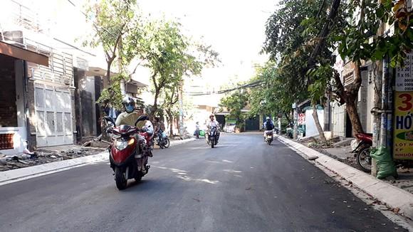 Đoạn đường hư nặng tại quận 8 đã được đại tu