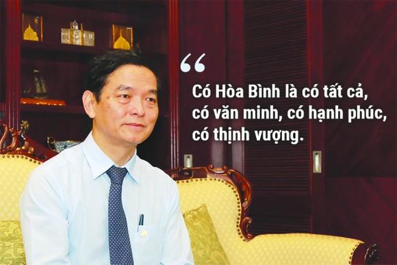Ông Lê Viết Hải - Chủ tịch HĐQT kiêm Tổng Giám đốc Công ty CP Tập đoàn Xây dựng Hòa Bình: Phát triển thị trường nước ngoài là chiến lược lớn của HBC ảnh 3