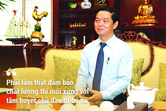 Ông Lê Viết Hải - Chủ tịch HĐQT kiêm Tổng Giám đốc Công ty CP Tập đoàn Xây dựng Hòa Bình: Phát triển thị trường nước ngoài là chiến lược lớn của HBC ảnh 4