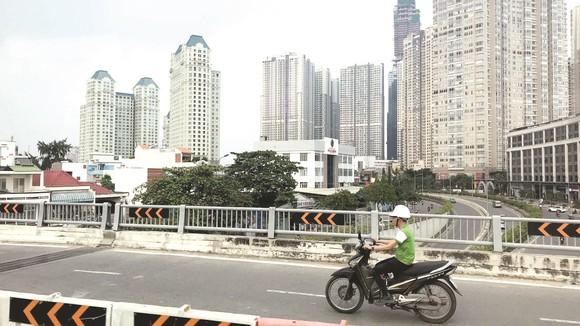 Các dự án nhà ở tại quận Bình Thạnh, TPHCM. Ảnh: HUY ANH