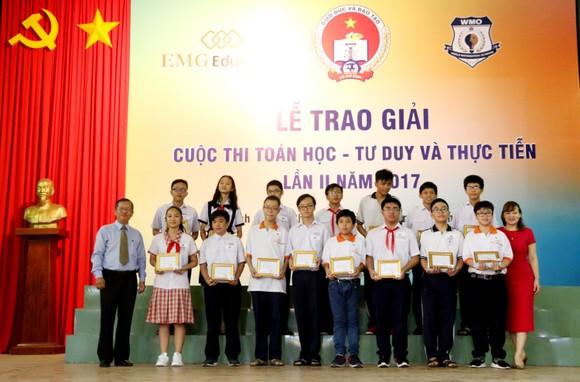 117 học sinh được trao giải cuộc thi Toán học - Tư duy và Thực tiễn lần 2 ảnh 2