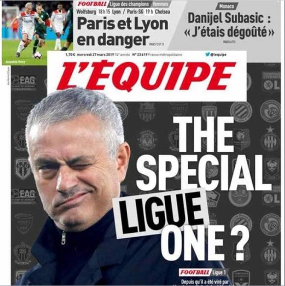 Báo chí Pháp tiết lộ: Jose Mourinho gia nhập Ligue 1 ảnh 1