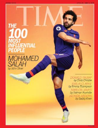 Salah lọt vào danh sách 100 người quyền lực nhất thế giới ảnh 1