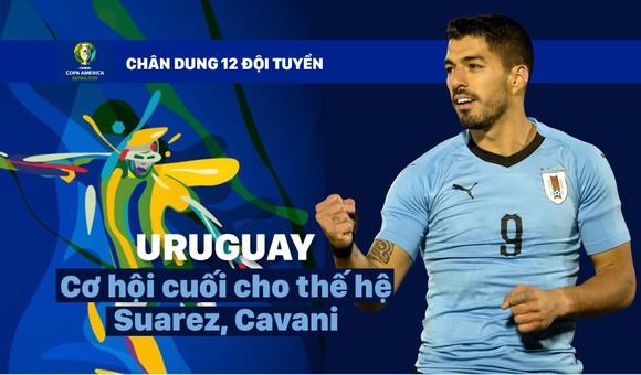 Bảng C: URUGUAY Cơ hội cuối cho thế hệ Suarez, Cavani