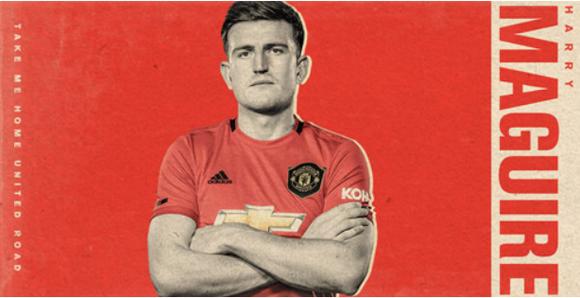 Maguire chính thức sang Man United với hợp đồng kỷ lục 80 triệu bảng ảnh 2