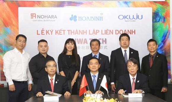 HBC bắt tay 2 đối tác Nhật Bản phát triển lĩnh vực trang trí nội thất