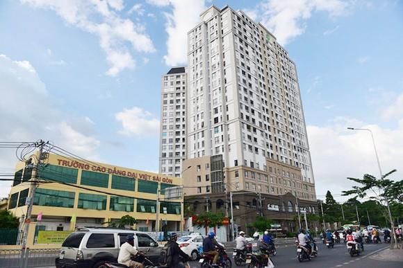Chung cư Garden Gate (đường Hoàng Minh Giám, quận Phú Nhuận, TP.HCM) nằm trong danh sách 7 dự án bị ngừng chuyển đổi mục đích sử dụng của Novaland.