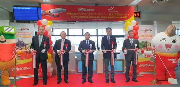 Vietjet mở đường bay thứ 3 kết nối Hà Nội và Tokyo