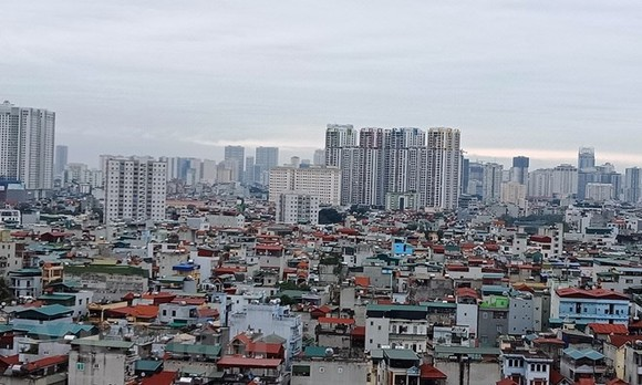 Thị trường bất động sản năm 2019 được nhận định có nhiều gam màu sáng tích cực. (Ảnh: Hùng Võ/Vietnam+)