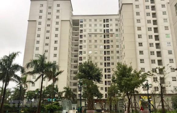 Khu nhà ở xã hội Ecohome 1 là một trong những Dự án nhà ở xã hội tiêu biểu của Hà Nội. (Ảnh: Nguyễn Thắng/TTXVN)