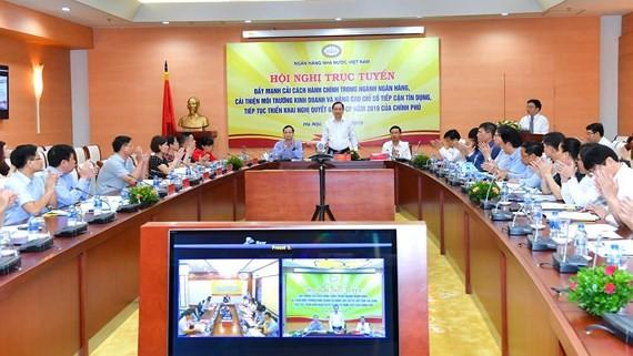 Toàn cảnh Hội nghị trực tuyến. Ảnh: VGP/Huy Thắng
