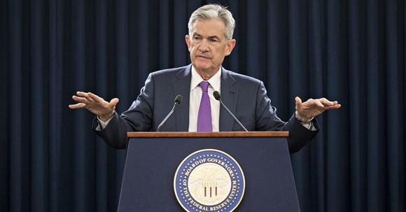 Chủ tịch Cục Dự trữ Liên bang Mỹ (Fed) Jerome Powell. (Nguồn: AP)