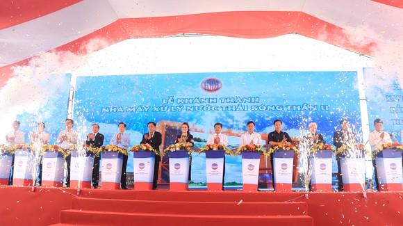 Lãnh đạo các bộ, ngành, địa phương và CTCP Đại Nam tại lễ khánh thành
