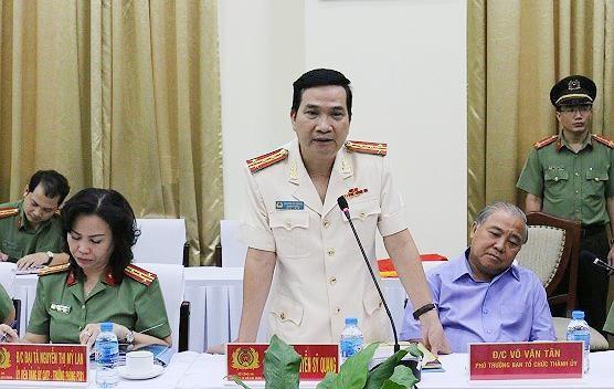 Đại tá Nguyễn Sỹ Quang được bổ nhiệm làm Phó Giám đốc Công an TPHCM ảnh 2