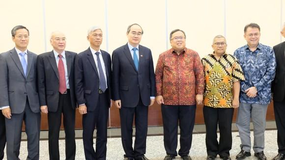 Bí thư Thành ủy TPHCM Nguyễn Thiện Nhân đề xuất lập liên minh ứng phó biến đổi khí hậu  ảnh 1