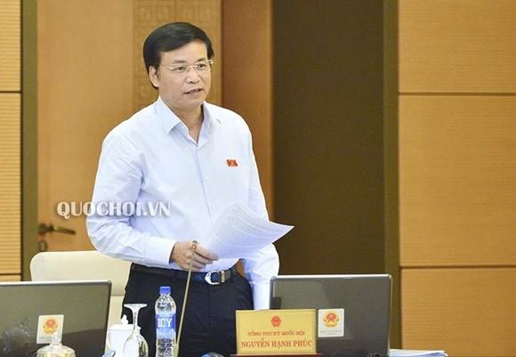 Quốc hội sẽ tiến hành thủ tục miễn nhiệm Bộ trưởng Bộ Thông tin và Truyền thông ảnh 1