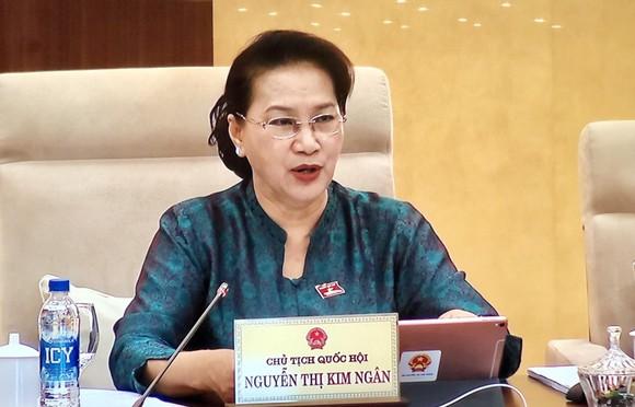 Chủ tịch Quốc hội Nguyễn Thị Kim Ngân yêu cầu rút kinh nghiệm về tình trạng ĐBQH vắng họp nhiều