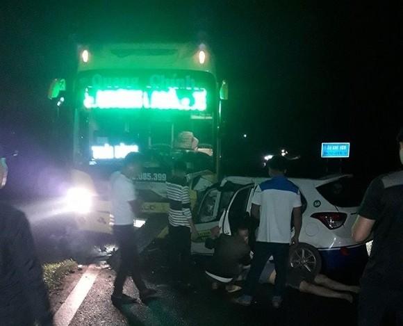 Hiện trường tai nạn làm 3 người chết tại Quảng Ninh