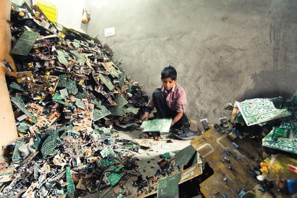 落後國家的垃圾場。
