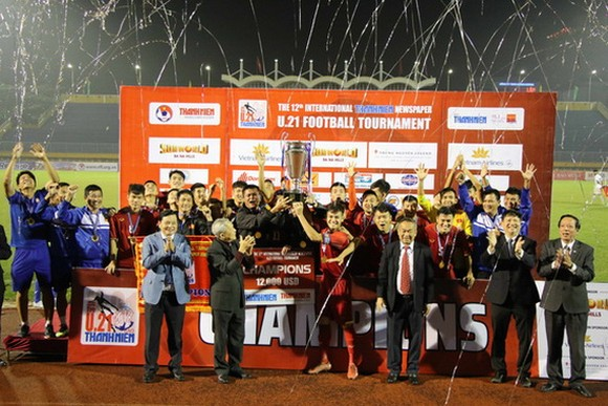 越南U21隊奪冠。