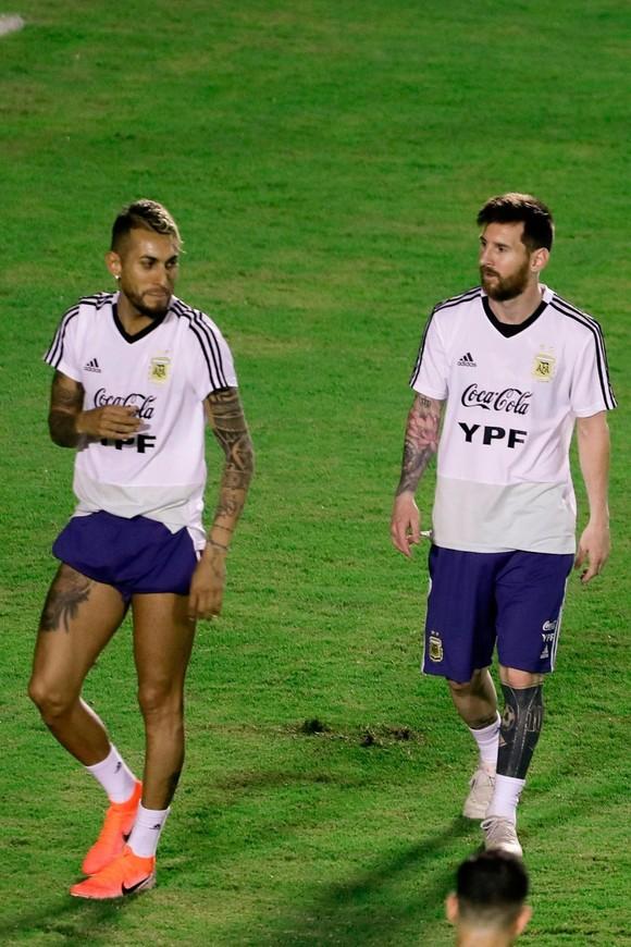 "Argentina - Colombia: Ông Scaloni sẽ chơi với ""mũi đinh ba"" Messi - Aguero - Di Maria ảnh 8"