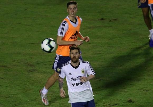 "Argentina - Colombia: Ông Scaloni sẽ chơi với ""mũi đinh ba"" Messi - Aguero - Di Maria ảnh 11"