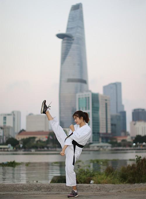 Người đẹp Karatedo Bùi Minh Anh chia sẻ những điều thú vị trong ngày 8-3 ảnh 3