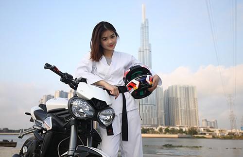 Người đẹp Karatedo Bùi Minh Anh chia sẻ những điều thú vị trong ngày 8-3 ảnh 8