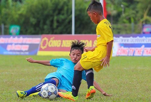 Giải bóng đá thiếu nhi Bà Rịa - Vũng Tàu 2019: Cầu thủ Lê Thái Vũ ghi đến 21 bàn thắng ảnh 4