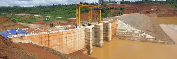 Thủy điện Đắk Kar chưa hoàn thiện đã vận hành chạy thử ảnh 1