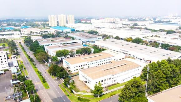 Một góc Khu công nghiệp VSIP I - Bình Dương