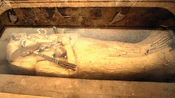 Ai Cập phục hồi quan tài của vua Tutankhamun