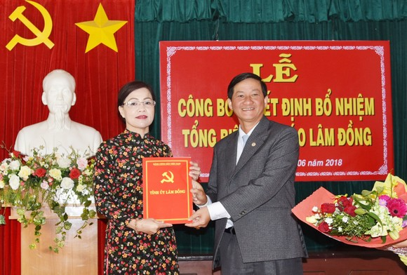 Nhà báo Hồ Thị Lan giữ chức Tổng Biên tập Báo Lâm Đồng ảnh 1