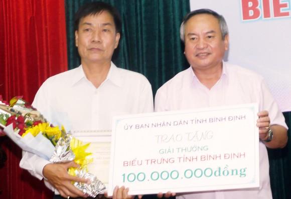 Tác giả người Hà Nội đoạt giải nhất cuộc thi sáng tác biểu trưng đất võ Bình Định ảnh 2
