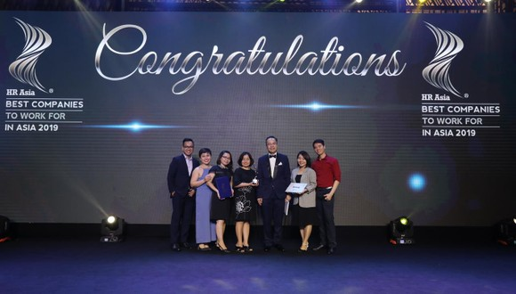 Amway Việt Nam vinh dự nhận giải thưởng 'Nơi làm việc tốt nhất châu Á 2019' ảnh 1