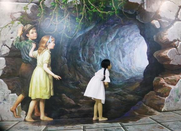 Phòng tranh nghệ thuật 3D lớn nhất Việt Nam ảnh 1