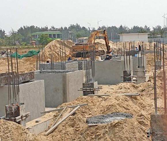 Khu biệt thự xây dựng trái phép ở Quảng Nam bất chấp lệnh dừng thi công ảnh 2