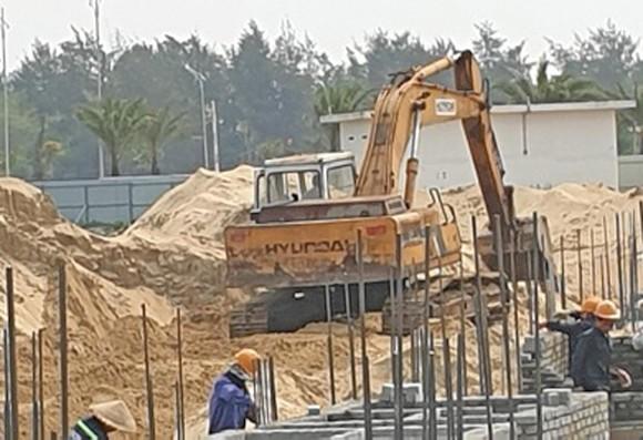 Khu biệt thự xây dựng trái phép ở Quảng Nam bất chấp lệnh dừng thi công ảnh 1