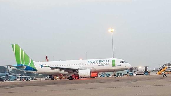 Máy bay của hãng Bamboo Airways