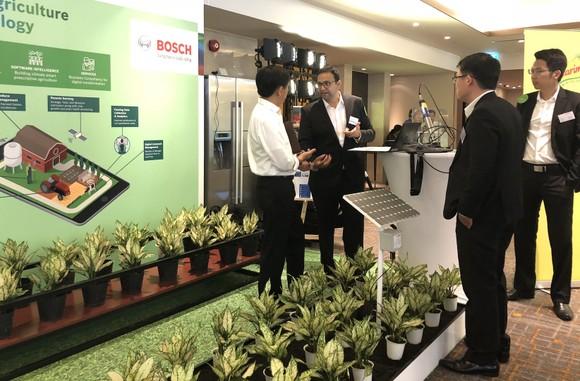 Bosch trình diễn Nông nghiệp thông minh